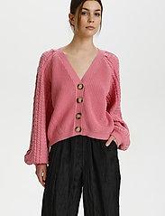 Gestuz - ViolaGZ cardigan - cardigans - cashmere rose - 0