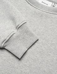 Gestuz - RubiGZ sweatshirt NOOS - sweatshirts & hættetrøjer - light grey melange - 5