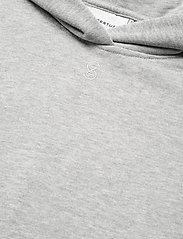 Gestuz - RubiGZ hoodie NOOS - sweatshirts & hættetrøjer - light grey melange - 3