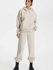 Gestuz - RubiGZ hoodie - sweatshirts & hættetrøjer - moonbeam - 3