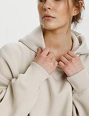 Gestuz - RubiGZ hoodie - sweatshirts & hættetrøjer - moonbeam - 5