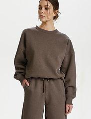 Gestuz - RubiGZ sweatshirt - sweatshirts & hættetrøjer - earth - 0