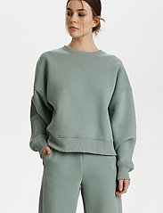 Gestuz - RubiGZ sweatshirt - sweatshirts & hættetrøjer - slate gray - 0