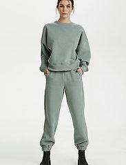 Gestuz - RubiGZ sweatshirt - sweatshirts & hættetrøjer - slate gray - 3