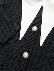 Gestuz - RawanGZ collar cardigan - black - 5