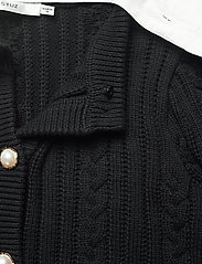 Gestuz - RawanGZ collar cardigan - black - 6