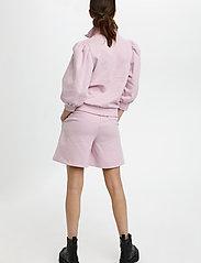 Gestuz - NankitaGZ ss zipper sweatshirt - sweatshirts & hoodies - fragrant lilac - 4