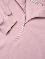 Gestuz - NankitaGZ ss zipper sweatshirt - sweatshirts & hoodies - fragrant lilac - 6