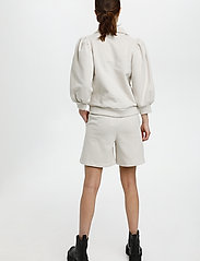 Gestuz - NankitaGZ ss zipper sweatshirt - sweatshirts & hoodies - moonbeam - 4