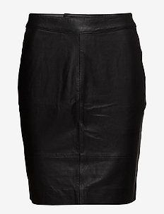 CharGZ mini skirt NOOS - kort skjørt - black
