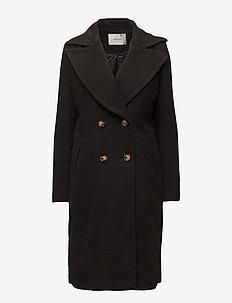 Maya coat - villakangastakit - black