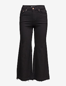 Trina culotte ZE3 16 - jeans évasés - black