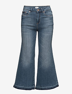 Trina culotte ZE3 16 - flared jeans - denim blue