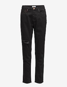 Agnes jeans ZE4 16 - jeans droites - black