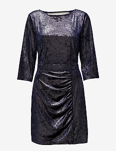 Sparkle dress YE17 - sukienki do kolan i midi - purple haze