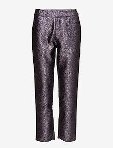Naima pants YE17 - casual bukser - purple haze