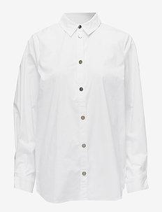 Kaya shirt MS18 - langærmede skjorter - bright white
