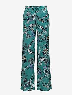 Ocean pants MS18 - uitlopende broeken - ocean flower
