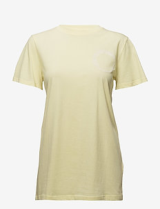 Bowi oz top MS18 - printed t-shirts - yellow pear