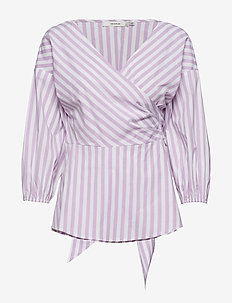 Wray blouse ZE3 17 - SHEER LILAC/STRIPE