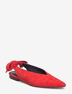 Straia slingback AO18 - ballerinaer - valiant poppy