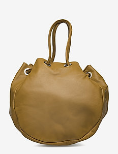 Bow tote bag MA18 - GOLDEN BROWN