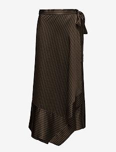 Strika skirt MA18 - BROWN STRIBE
