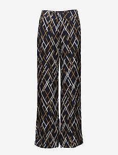 Vinta pants MA18 - uitlopende broeken - vinta blue