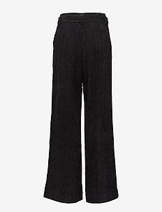 Roy pants MA18 - bukser med brede ben - black