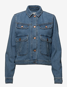 Jenelle jacket MA18 - vestes en jean - medium blue