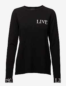 Linka ls pullover MA18 - jumpers - black