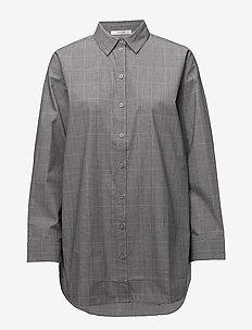 Wray check shirt ZE1 18 - langærmede skjorter - black/white check