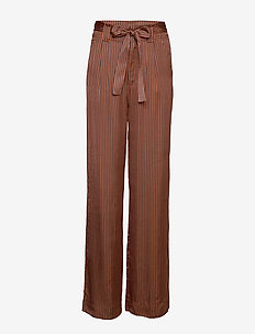Veronica pants YE18 - uitlopende broeken - ginger stribe