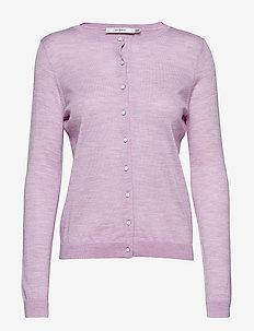 MerinaGZ cardigan NOOS - cardigans - purple melange