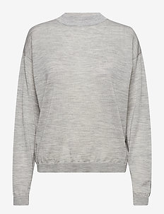 MerinaGZ pullover NOOS - trøjer - l.grey melange