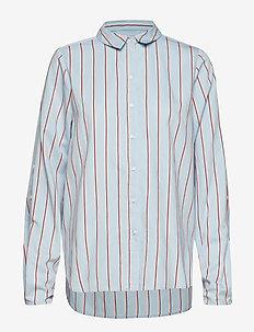 Chemise shirt SO19 - overhemden met lange mouwen - light blue with stripes