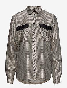 Callie shirt SO19 - langærmede bluser - check