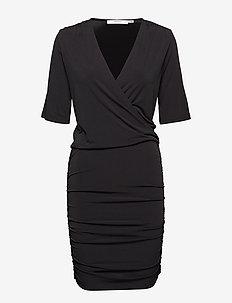 Hallie dress - BLACK