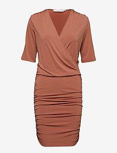 Hallie dress - RUSSET
