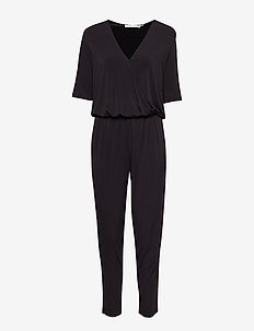 Hallie jumpsuit ZE2 18 - haalarit - black