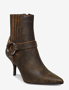 Zeta boots MS19 - ankle boots with heel - vintage brown