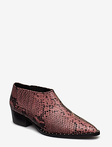 Shayton boots MS19 - ankle boots with heel - snake as cut