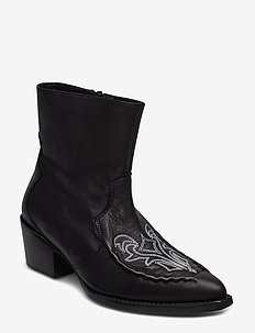 Emelia boots MS19 - ankle boots with heel - black