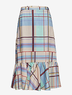 Ambina skirt MS19 - MULTI CHECK
