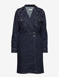 Elenor dress MS19 - DARK RINSE