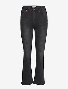 EmilindaGZ 7/8 jeans NOOS - dzwony dżinsy - charcoal grey