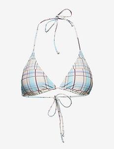 Pilea bikini top MS19 - MULTI CHECK