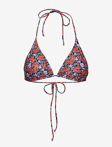 Pilea bikini top MS19 - SMALL RED ROSE