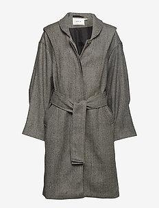 Wolla coat ZE4 18 - STRIPE AS SAMPLE