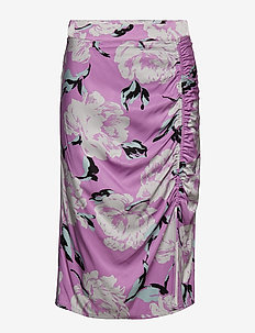Gwin skirt MS19 - PURPLE FLOWER